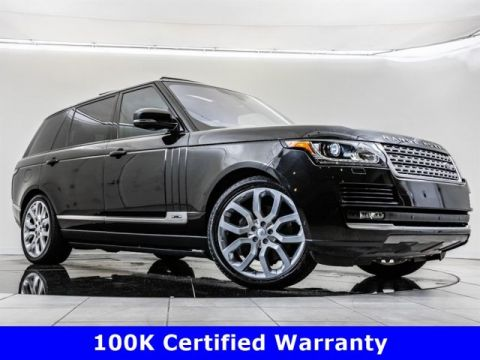Certified Pre-Owned 2016 Land Rover Range Rover Supercharged LWB, Fully Optioned Build