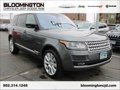 Pre-Owned 2016 Land Rover Range Rover Range Rover 5.0L V8 Supercharged LWB
