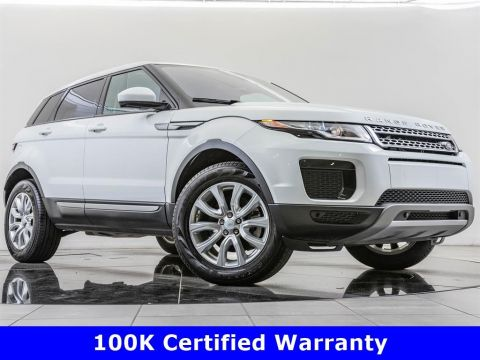Certified Pre-Owned 2018 Land Rover Range Rover Evoque