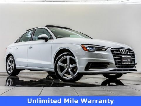 Certified Pre-Owned 2016 Audi A3 2.0 TFSI Premium quattro, Unlimited Mile Warranty