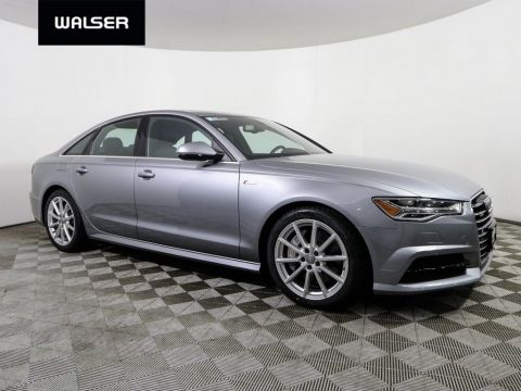 Pre-Owned 2017 Audi A6 S-LINE AWD 3.0T.