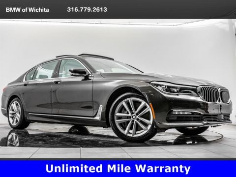 Certified Pre-Owned 2016 BMW 7 Series 750i xDrive, Exec Pkg, Drvr Asst Plus I & II Pkgs