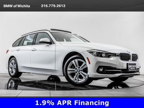 Pre-Owned 2018 BMW 3 Series 330i xDrive, 17 Whls, Prem Pkg, Navi, Head-Up