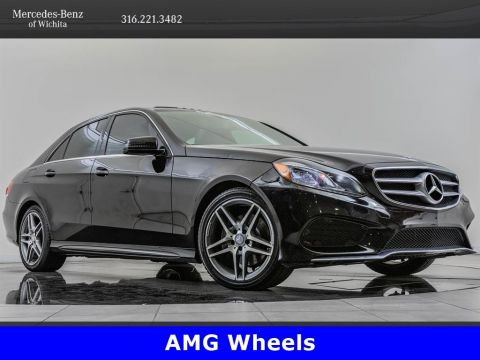 Pre-Owned 2014 Mercedes-Benz E-Class E350 Sport 4MATIC, AMG® Wheels
