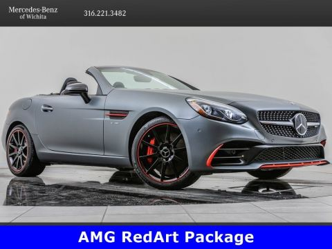 Pre-Owned 2018 Mercedes-Benz SLC AMG® SLC 43, AMG® Performance RedArt Package
