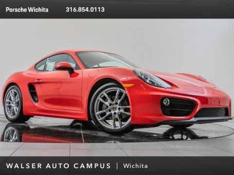 Pre-Owned 2016 Porsche Cayman Premium Plus Pkg, Upgraded 19-Inch Whls